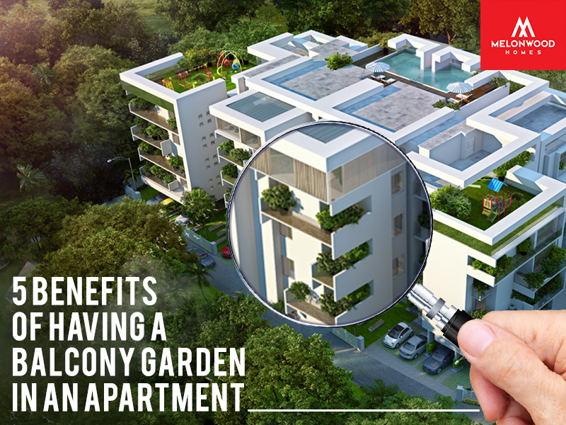 A Balcony Garden Is Very Much Pleasing To The Eyes As Well Offers Some Amazing Benefits For Apartment